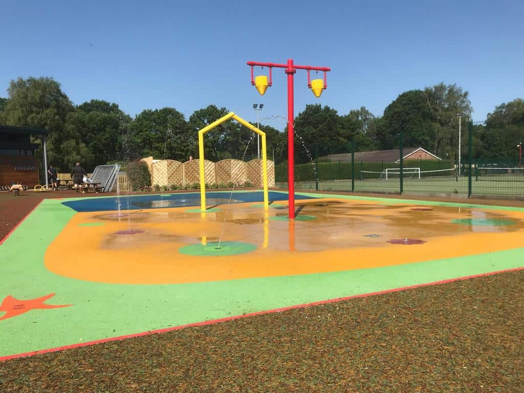 Water Play and Splash Pads