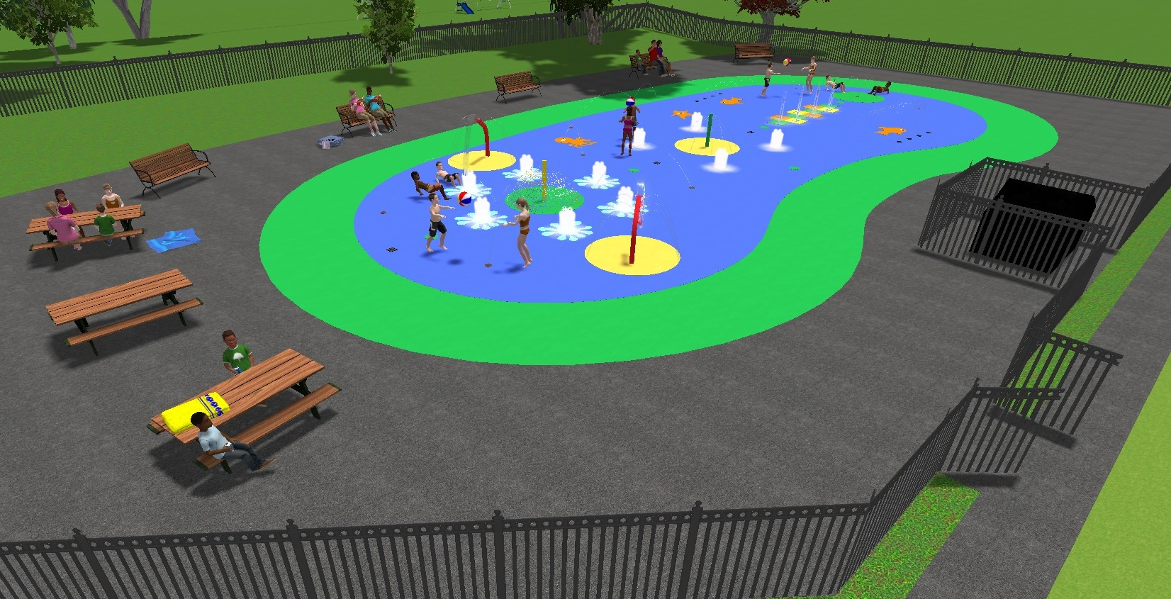 2016-06 Chineham Park Splash Pad 001